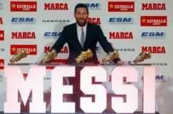 Lionel acaba de ganar el 5° Botín de Oro, con 34 goles en la reciente temporada.