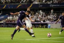 El colombiano Santos Borré convirtió los dos goles de River y su penal en la definición. Figura en River.