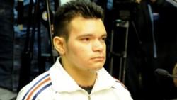 Lucas Ariel Azcona, condenado a prisión perpetua por haber asesinado de 11 puñaladas a la estudiante chilena Nicole Sessarego Bórquez en 2014.