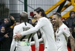 PSG sufrió pero sacó adelante un partido complicado por la Copa de la Liga francesa.