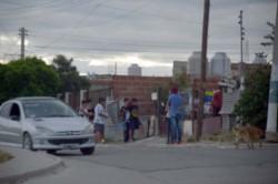 El trágico hecho ocurrió en el barrio Moure de la ciudad petrolera. (Foto: Crónica)
