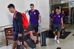 Luego de caer ante Al Ain por penales, River llegó a Abu Dhabi para preparar el encuentro por el tercer puesto del Mundial de Clubes.