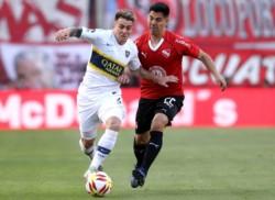 Boca venció 1-0 a Independiente. El equipo de Holan pagó carísimo su ineficacia. Muy pobre arbitraje de Herrera.