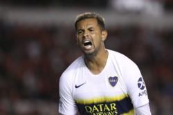 ¡El grito de Edwin! Así celebró Cardona el 1-0 de Boca ante Independiente y su tercer gol en esta Superliga.