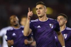 Con un doblete de Borré, River le gana 2-1 a Gimnasia por la fecha 14 de la Superliga.
