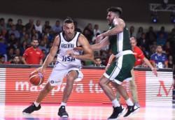 Argentina derrotó 85-71 a México y logró su séptimo triunfo consecutivo. Luis Scola máximo anotador con 22 puntos, 9 rebotes y 3 asistencias.