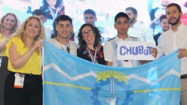 Chubutenses premiados. Los representantes de la provincia trajeron medallas de oro, plata y distinciones.
