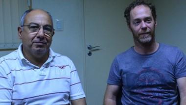 Diego Rogers y Mario Quinteros, profesores de enseñanzas prácticas.