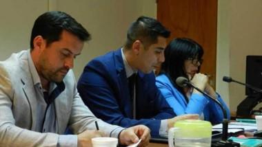 Los fiscales Silvana Salazar y José Bugueño en pleno proceso de investigación en un caso que conmociona.