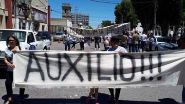 Familiares y allegados de León y López marcharon por las calles céntricas de Madryn reclamando justicia.