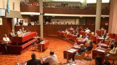 Recinto. En la última sesión del año, los legisladores discutieron dos temas clave y el Poder Ejecutivo sólo logró la ampliación para los sueldos.