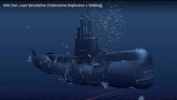Kostack Studio aseguró que la simulación se basó en los últimos momentos del submarino argentino desaparecido el año pasado (2017) y hallado en noviembre de 2018.