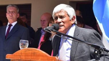 Intendente de El Maitén, Oscar Currilén.