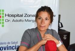 Dra. Sofía Testino, directora asociada Hospital Trelew