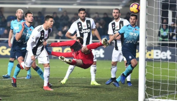 Cristiano Ronaldo salva el invicto de la Juventus en la Serie A.