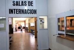 La joven fue sorprendida por el hermano del paciente en el Hospital Reconquista.