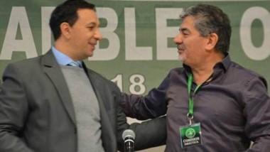 Dúo. Maderna (izquierda) y Taboada anticiparon estrategia electoral.