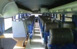 El hombre viajaba en un micro desde Retiro a Puerto Madryn
