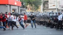 De no creer. Las autoridades de España le piden ayuda a las fuerzas de seguridad de Argentina para la Superfinal en Madrid.