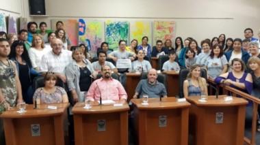 Los participantes a la sesión simulada describieron las dificultades de las personas con discapacidad.