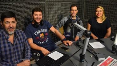 Eduardo Sepúlveda visitó el pasado 26 de diciembre los estudios de FM Tiempo 91.5 de Trelew, donde fue entrevistado por el equipo  de