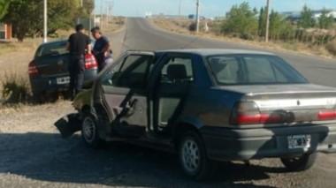 Los daños se registraron en ambas carrocerías de los dos vehículos .