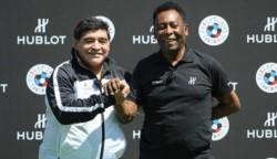 La crítica de Pelé a Lionel Messi, al que ubicó por debajo de Diego Maradona.