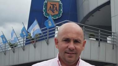 Gustavo Sastre es asambleísta de AFA en representación del Federal a  y presidente de Deportivo Madryn.