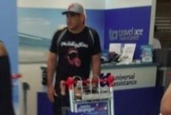 Retuvieron en el aeropuerto de Madrid al barra Maxi Mazzaro y lo mandan de vuelta a Buenos Aires.