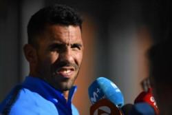 Carlos Tevez habló tras el entrenamiento en Madrid y no ocultó su sentimiento.