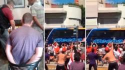 El hincha y socio de River fue condenado por apedrear el bus de Boca.