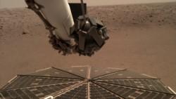Histórico. La Nasa puso online el sonido de las vibraciones generadas por las ráfagas del viento marciano contra los sensores de la nave espacial InSight,.