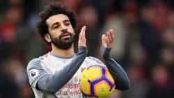 Mohamed Salah marcó un