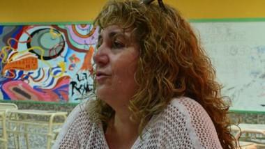 Claudia Williams, profesora de Tecnología. Habló sobre bullying.