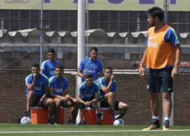 Pablo Pérez jugó para los suplentes y evalúan si lo utilizarán ante San Lorenzo.