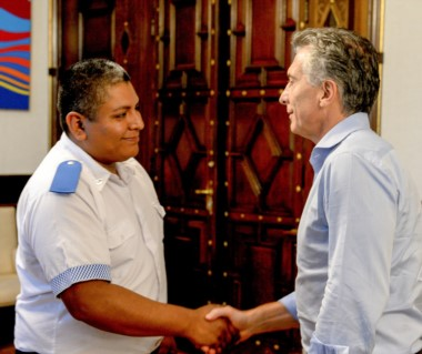El policía de Avellaneda Luis Chocobar. (imagen gentileza diario Los Andes).