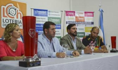 El lanzamiento del concurso fue realizado ayer con María Inés Bordenave, Walter Ñonquepan, Rodrigo Lassaga y  Darío Oficialdegui.