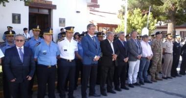 El comisario mayor José Benigno Arias se hizo cargo oficialmente como el nuevo jefe de la Unidad Regional.