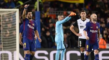 Con gol de Luis Suárez tras una asistencia de Messi, Barcelona venció 1-0 en el Camp Nou.