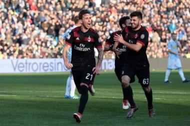 Gol de Lucas Biglia en Italia: el volante de la selección marcó su primer gol en Milan, que vapuleó a SPAL.