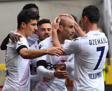 Rodrigo Palacio anotó en el empate 1-1 de Bologna ante el Inter, y de esta manera alcanzó los 100 goles en Europa.