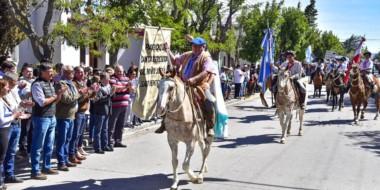 Se realizó ayer en Sarmiento la oficial apertura del 45º Festival provincial de la Doma y el Folklore
