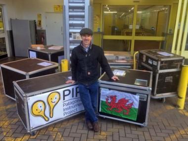 Chris Stock, el músico galés que impulsa la iniciativa.