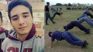 El joven aspirante a Policía que encontró un trágico final a su vida. (foto gentileza diario Río Negro).