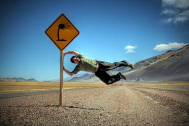 Un toque de humor para el querido viento patagónico...