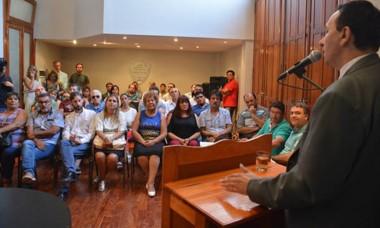 """Maderna adelantó que su discurso será de """"fuerte contenido político""""."""