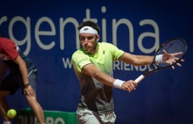 El ''Yacaré'' venció al italiano Fabio Fognini (4*), en sets corridos.