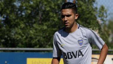 El ex jugador de Talleres podría debutar éste fin de semana en Boca.