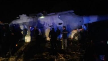 Trece muertos en accidente de helicóptero que evaluaba daños por sismo de 7,2 en México.