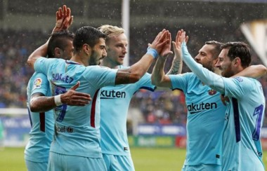 Será la primera vez que Messi y el Barcelona se enfrentan, en primera, al Girona en el Camp Nou.